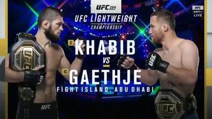 Khabib Nurmagomedov VS Justin Gaethje - Full Fight UFC 254