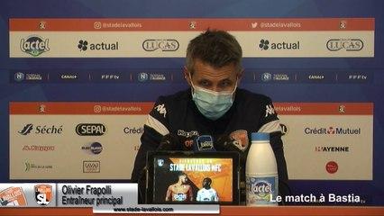 (J09) SC Bastia vs Laval, le point presse avec O.Frapolli