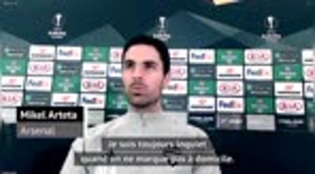 """Arsenal - Arteta veut """"plus de ballons"""" pour Lazacette et Aubameyang"""