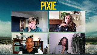 PIXIE: Olivia Cooke on Ben Hardy & Daryl McCormack's Kissing Scene