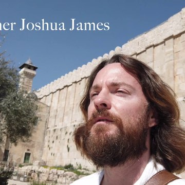 ABRAHAM'S TOMB HEBRON WITH TEACHER JOSHUA JAMES ISRAEL
