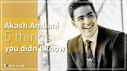 5 things you didn't know about Akash Ambani