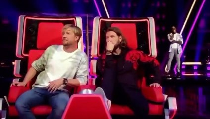 Kenyan man Turns all 4 chairs at The Voice Competition, Germany