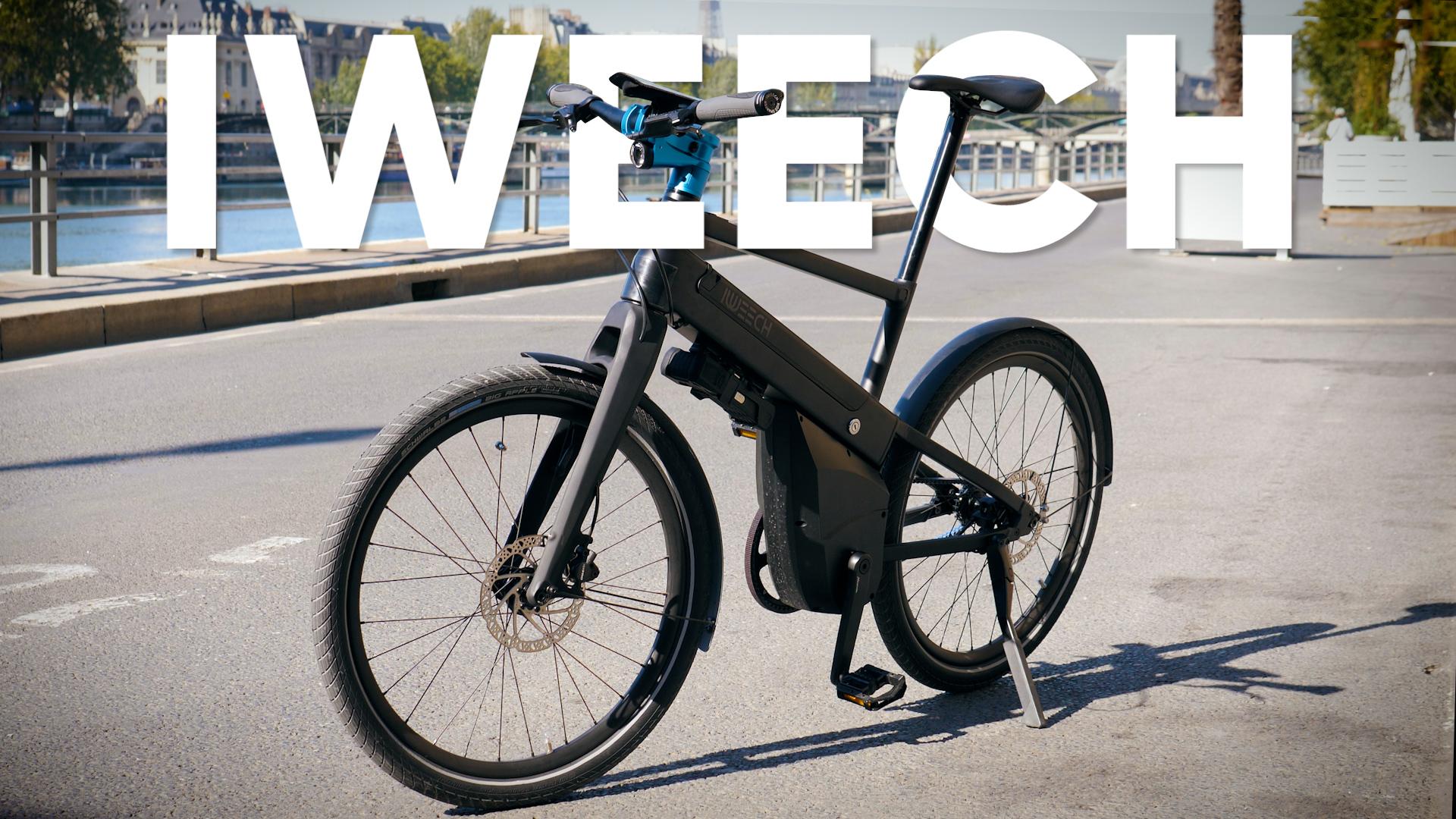 Test du vélo Iweech : une excellente surprise !