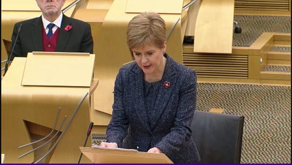 Scotland Coronavirus levels announced: First Minister's Questions - October 29 2020