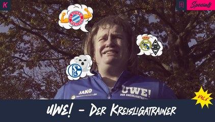 Gladbachs Ausrufezeichen gegen Real, Goretzkas massiver Bizeps und Uwe ist wie Mainz Coach Lichte!