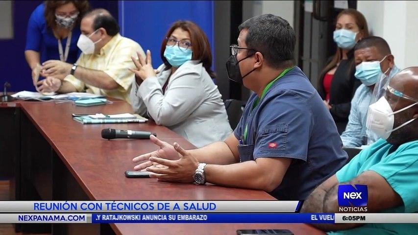 Reunión con técnicos de salud - Nex Noticias