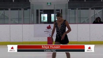 Novice Women Short Program - 2021 Skate Canada: Alberta-NWT/Nunavut Sectional Championships