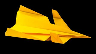 Learn to Fold the 'Canard' Paper Airplane