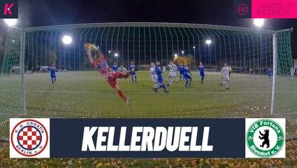 Vor Lockdown: Kellerkracher in Berlin | S.D. Croatia Berlin - VFB Fortuna Biesdorf (Berlin-Liga)