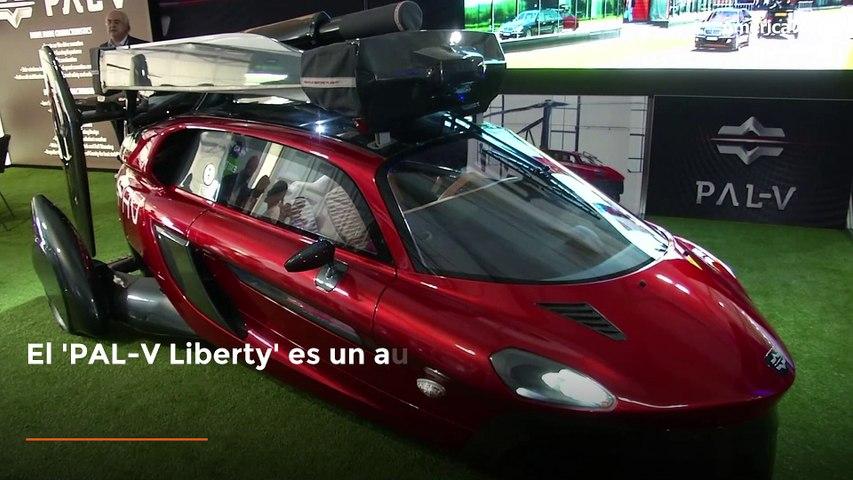 Liberty: el carro volador de la empresa holandesa 'Pal-V'