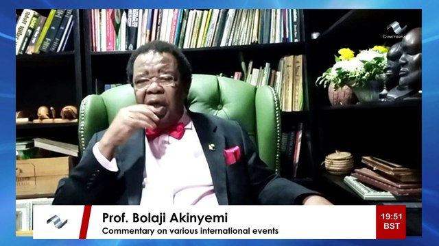 Corbyn suspension is not  an attack on freedom of speech - Prof. Bolaji Akinyemi