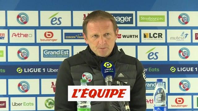 Kuentz : «On est déçus pour les joueurs» - Foot - L1 - Strasbourg