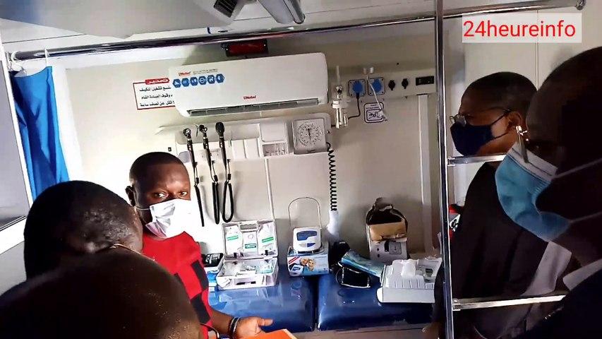 Covid-19 au Togo : Le PNUD offre 3 cliniques mobiles au gouvernement