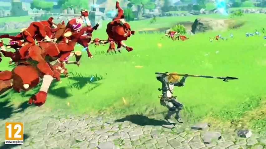 Hyrule Warriors : L'Ere du Fléau - Trailer de gameplay et démo jouable