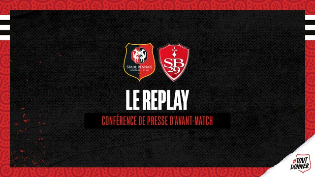 J9. #SRFCSB29 - Replay de la conférence de presse avant-match