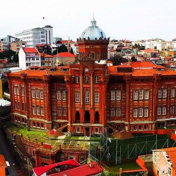 Istanbul, Turkey  - by drone [4K]