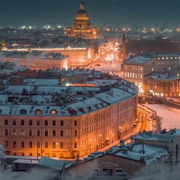 Winter Saint Petersburg Russia 6K. Shot on Zenmuse X7 Drone__ Зимний Петербург, аэросъёмка