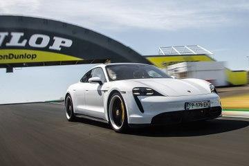 Supertest Porsche Taycan Turbo S