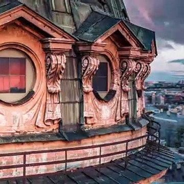 The city of white nights - Saint Petersburg drone video Timelab.pro__ Город белых ночей, аэросъемка