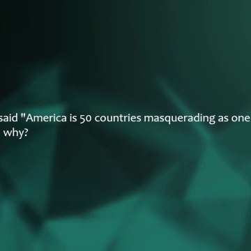 r/AskReddit || America is 50 countries masquerading as one do you think  (Top Posts | Reddit Storie)