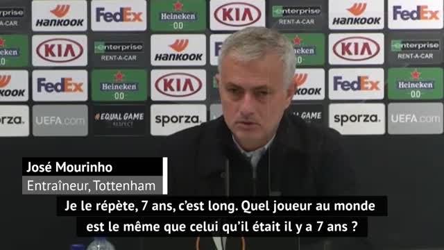 """Premier League - Mourinho : """"Comme Ronaldo, comme Messi, Bale est différent d'il y a 7 ans"""""""