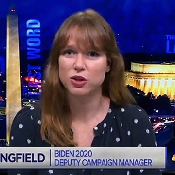 Biden Dep. Campaign Manager - 'Women Voters Are A Huge Part Of The Biden Coalition' _ The Last Word
