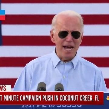 Biden Promises To 'Shut Down The Virus' If Elected _ MSNBC