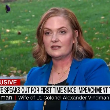 Alex Vindman's wife gives first interview since impeachment hearing
