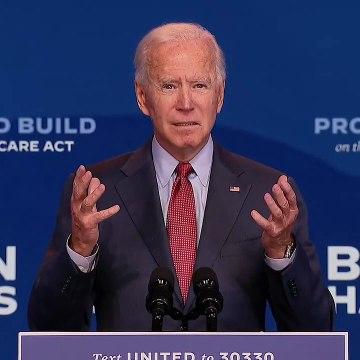 Biden delivers campaign remarks in Wilmington