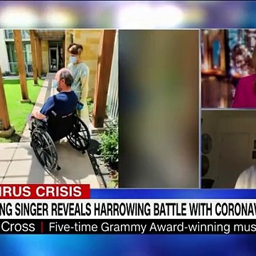Christopher Cross says Covid-19 paralyzed him for days
