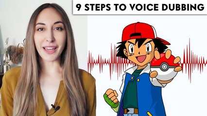Voice Actor (Ash from Pokémon) Breaks Down Voice Dubbing in 9 Steps