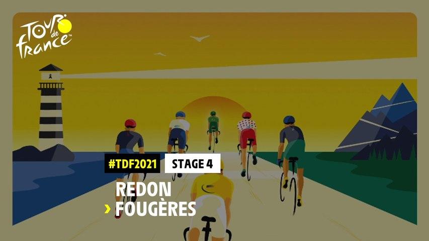 #TDF2021 - Découvrez l'étape 4 / Discover stage 4