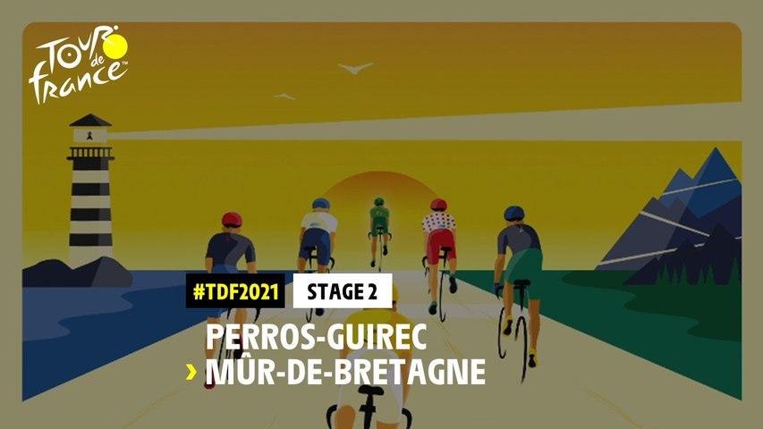 #TDF2021 - Découvrez l'étape 2 / Discover stage 2