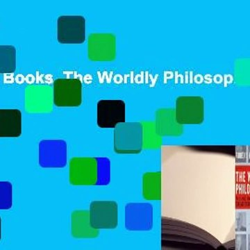 About For Books  The Worldly Philosophers  Review