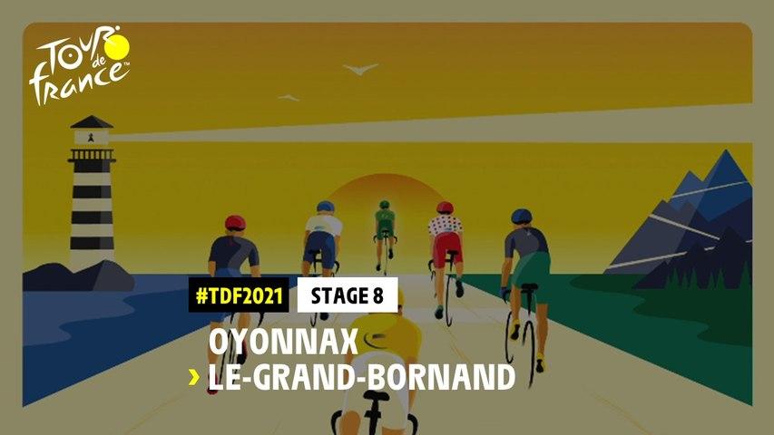 #TDF2021 - Découvrez l'étape 8 / Discover stage 8