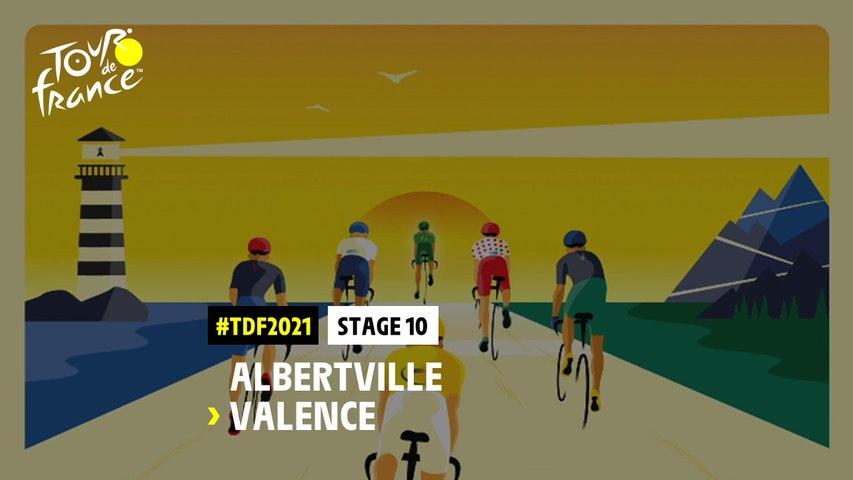 #TDF2021 - Découvrez l'étape 10 / Discover stage 10