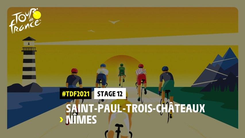 #TDF2021 - Découvrez l'étape 12 / Discover stage 12