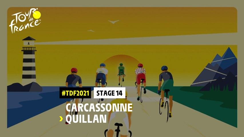 #TDF2021 - Découvrez l'étape 14 / Discover stage 14