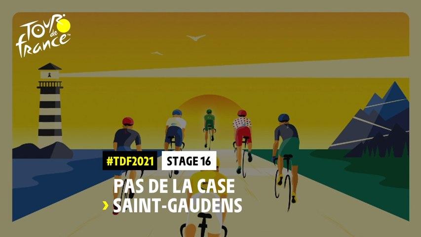 #TDF2021 - Découvrez l'étape 16 / Discover stage 16