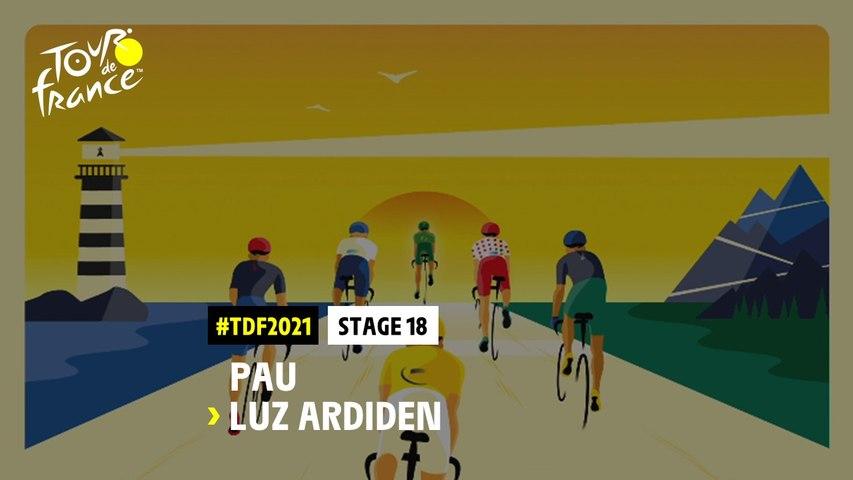 #TDF2021 - Découvrez l'étape 18 / Discover stage 18
