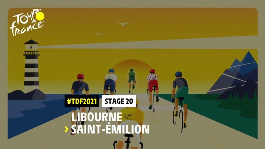 #TDF2021 - Découvrez l'étape 20 / Discover stage 20