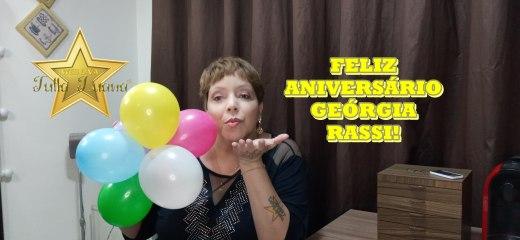 FELIZ ANIVERSÁRIO GEÓRIGIA RASSI!
