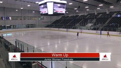 Junior Women Free Program - 2021 Skate Canada: Alberta-NWT/Nunavut Sectional Championships