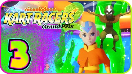 Nickelodeon Kart Racers 2 Part 3 (PS4, XB1, Switch) Aang (Avatar) - Diapee Cup