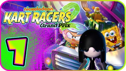 Nickelodeon Kart Racers 2 Part 7 (PS4, XB1, Switch) Lucy (Loud House) - D.R.E.A.M. Cup