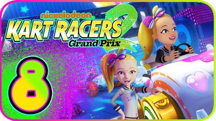 Nickelodeon Kart Racers 2 Part 8 (PS4, XB1, Switch) Jojo Siwa - Super Slime Cup