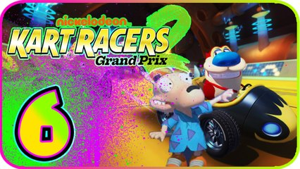 Nickelodeon Kart Racers 2 Part 6 (PS4, XB1, Switch) Rocko - ARGGH! Cup