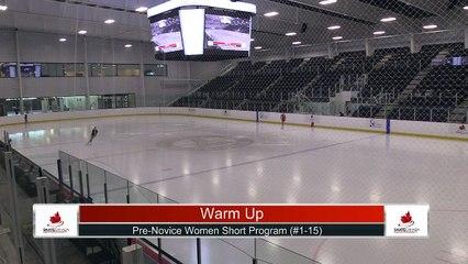 Pre-Novice Women Short Program Part 1 - 2021 Skate Canada: Alberta-NWT/Nunavut Sectional Championships