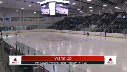 Pre-Novice Women Short Program Part 2 - 2021 Skate Canada: Alberta-NWT/Nunavut Sectional Championships